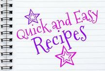 Quick and Easy Recipes for Families / Grab and check out all my easy family recipes here! Let me know which ones are your faves! Enjoy desserts, quick and easy meals, main dishes and more! All recipes are husband and kid-approved!