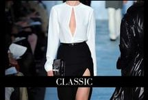 CLASSIC | Style / A look that is always relevant.