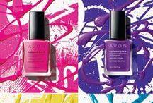 Avon Nailwear / Nail looks with Avon Products Buy Avon Online at www.youravon.com/adavis0493