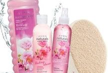 Avon Naturals / This is one of our lines of Shower Gels, Body Lotions, and Hand Soaps! They come in classic scents such as vanilla and cucumber melon as well as many others!