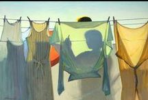 ~clothes hanging out to dry~