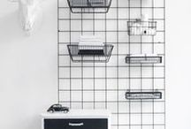 Simple Storage / storage, organization in a clean and clever and simple way