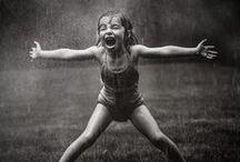 ~Singing in the rain~ / rain and umbrellas