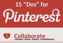 Pinterest Tips and Infographics / Pinterest Tips and Infographics