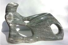 Reclining Figure / Abstract figurative sculpture