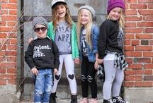 a styled mess / Kid fashion.  Street styled.  Trendy kids.  Street fashion.  Brown Town Girls & their styled mess