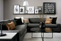 Home: Living room / sofa's home decor inspiration style design furniture