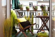 Home: Balconies and Gardens / home decor balconies gardens inspiration