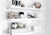 Home:  organization and other clever ideas / home organization shelves design furniture inspiration decor