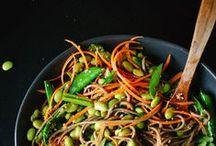 Pâtes & Nouilles VG / Les  plus belles recettes de pâtes, nouilles, noodles... vegan, glanées sur Pinterest !