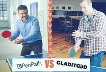 The PenPath Team / Hi there! Meet the PenPath team having fun and working on their craft. :)