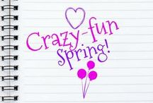 Crazy-fun Spring! / New board rules! For each pin you place on the board, please re-pin two other pins FROM the board. After one week, people who do not follow this rule will be removed. Also, only pin tall, pretty images! Thanks! Recipes, crafts, diy, home decor and anything that celebrates crazy-fun spring!