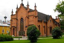 Kirkkoja elämäni varrelta❤