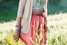 style. / if you haven't noticed... I really like stripes, bright colors, and flowy skirts. :) / by Jacqui Rivera
