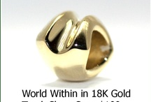 Gold Trollbeads  / Trollbeads uses 18K Gold on all of their gold beads as they know it produces the best detailed beads.  This increases the cost but ever further increases the beauty of the beads.  Gold Trollbeads are a real splurge as the price of gold is the highest it's ever been.  If you can treat yourself to gold -say one bead a year it can change your bracelet forever...but only if you love gold!