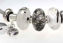 Natural Stone and Amber Trollbeads