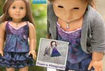 My Custom Projects / Several times a year we hold a design contest on our youtube channel. These outfits are drawn and designed by the youtube participants and then the winiing design is chosen and made for their American Girl Doll for free!  / by Cinnamon Miles / Liberty Jane Clothing
