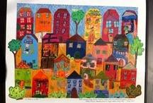 School Art Auction / Community Art Auction ... It takes a Village