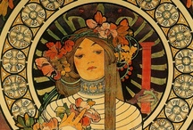 art | mucha  / by Andrea Reed