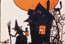 """TRICK OR TREAT""...recipes and decor / Ghost's and Goblins, a Witches brew…. Black Cats, Spells and Recipes too…Ok it's just witch craft "" Hocus Pocus"" for  children's costumes, treats and  pumpkin decorating. / by Roslind Sherman"