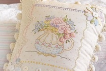 Embroidery / I so admire beautiful works of art using thread.  Here are some patterns, tutorials and free embroidery images.  / by Tea Cottage Pretties - Beverly