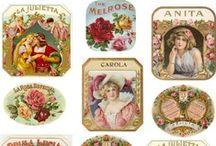 Labels Other Vintage / A collection of vintage and antique labels.  / by Tea Cottage Pretties - Beverly