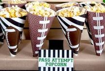 Football party ideas / Game Day Party ideas, Recipes, DIY, Games compiled by Jennifer Kirlin, BellaGrey♥Designs / by Jennifer Kirlin | BellaGrey Designs