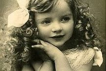 """""""YESTERDAY'S CHILD""""  / Vintage photography of yesterday's most beautiful children. / by Roslind Sherman"""