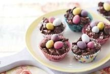 Easter ideas / Lots of creative ideas to get your little one involved with for the Easter holidays - fun, inspiring, and yummy!