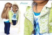 Peleton Moto Jacket for Dolls