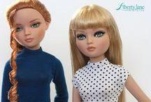 LJ Basics - T-Shirt Variations for Dolls
