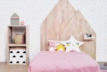 Pink and Grey Nurseries and Girl's Rooms / Girls' Rooms and Nurseries that utilise pink and grey beautifully!