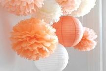 Decorating with Tissue Pompoms