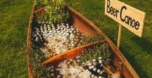 Fun Drink Stations Ideas / Creative bar and drink station ideas for weddings, parties or corporate events