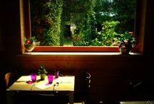 Il Ristorante / Alcune foto del nostro ristorante e del giardino.