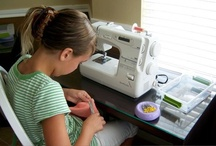 Crafty Kids / From sewing and knitting, to arts and crafts and summer camp ideas.