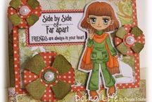 Art by Mi Ran - Projects / Art by Mi Ran Handmade Cards, Paper Crafting, Hand Coloring Cards