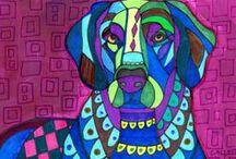 Flatcoated retriever / My favorite dog breed