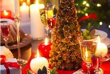 HOLIDAZZLE / #HOLIDAY #RECIPES, DELICIOUS DRINKS, DECORATIONS, TABLESETTINGS, GLITZ AND GLAM, TO DOWN HOME COMFORT For The #Holidays...Have A Blessed Holiday Season..... HOLDAZZLE!  ~LadyLuxury~ / by LadyLuxury