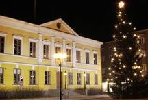 Places where I have lived: Kokkola / My hometown.