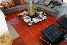 Tapis cuir, leather rugs / Tapis de sol en cuir, tannage végétal.  Leather carpet, vegetable tanning