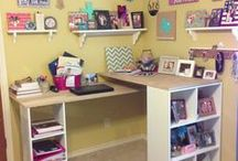 Sewing Quilting Art studio