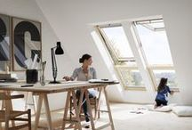 Inspiring home workspaces / In need of inspiration for that perfect home office? Here are some light-filled and airy private workspaces that will help you unleash your creativity.