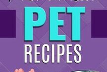 Cooking For Pets / Share your favorite recipe here or try one of ours!