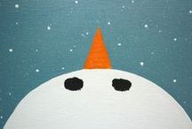 Tél,winter,hiver / Kreatív dolgok gyerekeknek.