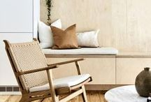 {H O M E} : Living room
