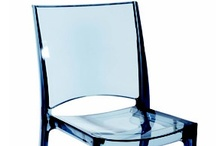 CIRY / The CIRY transparent chair brings a cool look to any Restaurant, Food Court, or Café. Made of polycarbonate injection mold , very sturdy for commercial applications. Stacks 4. Indoor only .