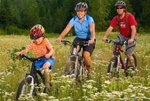 Play Here  / Camping, biking, hiking, fishing, indoor pools, rec centers, fun family entertainment, places to play.