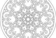 ornamenty i inne wzory