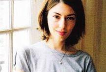 Sofia Coppola. / Outfits of the American director Sofia Coppola